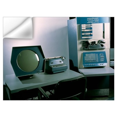 DEC PDP-1 computer Wall Decal