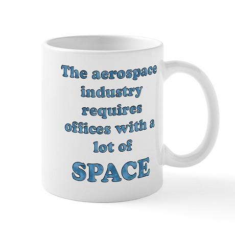 Aerospace companies need lots of SPACE Mug