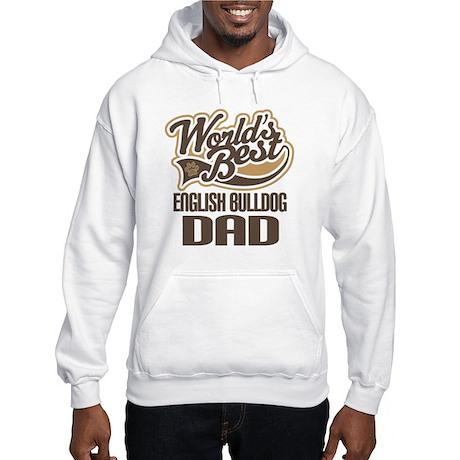 English Bulldog Dad Hooded Sweatshirt