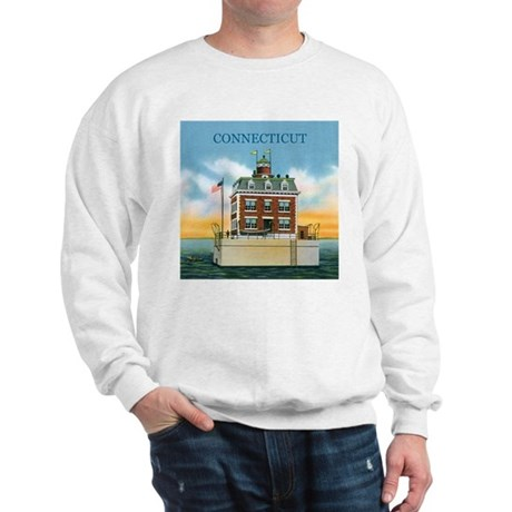 Connecticut New London Ledge Light Sweatshirt
