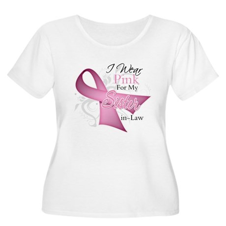 Sister-in-Law Breast Cancer Women's Plus Size Scoo