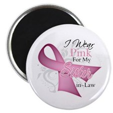 Sister-in-Law Breast Cancer Magnet