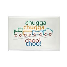 Chugga Chugga Choo Choo Rectangle Magnet