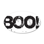 Boo! 20x12 Oval Wall Decal