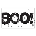 Boo! Sticker (Rectangle 10 pk)