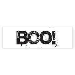 Boo! Bumper Sticker