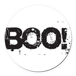 Boo! Round Car Magnet
