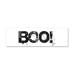 Boo! Car Magnet 10 x 3
