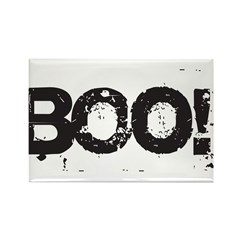 Boo! Rectangle Magnet (10 pack)