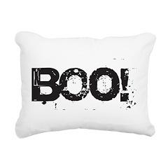 Boo! Rectangular Canvas Pillow