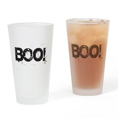 Boo! Drinking Glass