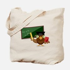 teacher owl Tote Bag