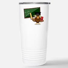 teacher owl Travel Mug