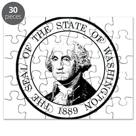 Washington State Black Puzzle