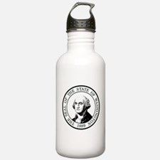 Washington State Black Water Bottle