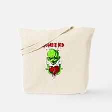 Zombie Kid Tote Bag