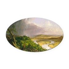 View from Mount Holyoke Oval Car Magnet
