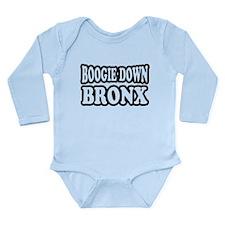 Boogie Down Bronx Long Sleeve Infant Bodysuit