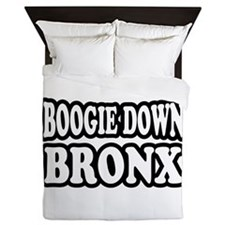 Boogie Down Bronx Queen Duvet