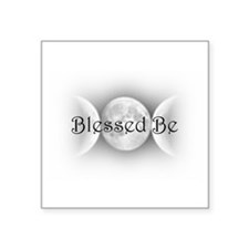 "BlessedBe.png Square Sticker 3"" x 3"""