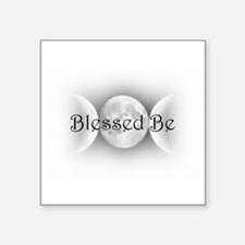 """BlessedBe.png Square Sticker 3"""" x 3"""""""