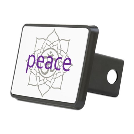 PeaceLotus.png Rectangular Hitch Cover
