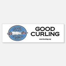 Long Island Curling Club Bumper Bumper Sticker