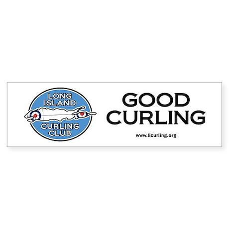Long Island Curling Club Sticker (Bumper)