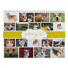 Corgis! Wall Calendar