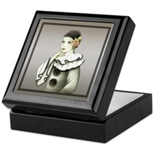Harlequin # 2 Keepsake Box