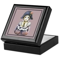 Harlequin # 3 Keepsake Box