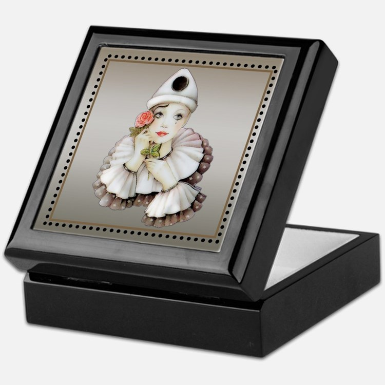 Harlequin # 1 Keepsake Box
