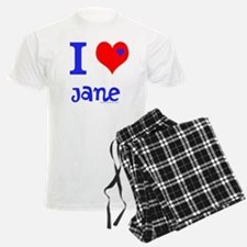 "Personalised Men's Pyjamas ""I Love"""