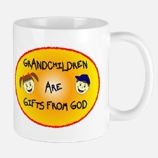 GRANDCHILDREN ARE GIFTS FROM GOD Mug