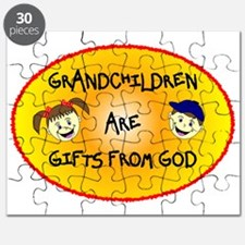 GRANDCHILDREN ARE GIFTS FROM GOD Puzzle