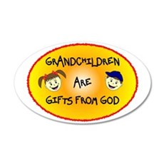 GRANDCHILDREN ARE GIFTS FROM GOD Wall Decal Sticker