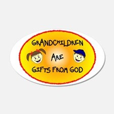 GRANDCHILDREN ARE GIFTS FROM GOD Wall Decal