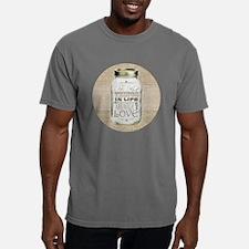 Mason Jar Best Things ar Mens Comfort Colors Shirt