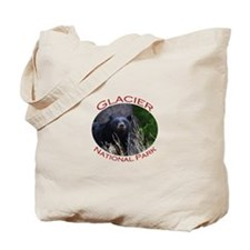 Glacier National Park...Black Bear Tote Bag