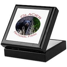 Glacier National Park...Black Bear Keepsake Box