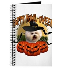 Happy Halloween Bichon Frise.png Journal