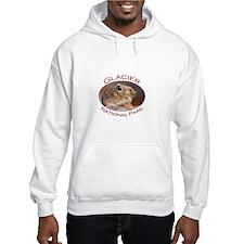 Glacier National Park...Pika Profile Hoodie Sweatshirt