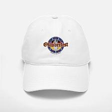 Oktoberfest Beer and Pretzels Baseball Baseball Cap