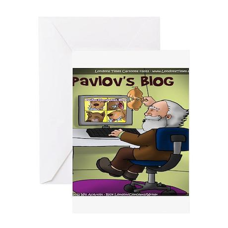 Pavlovs Blog Greeting Card