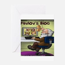 Pavlovs Blog Greeting Card
