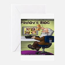 Pavlovs Blog Greeting Cards (Pk of 10)