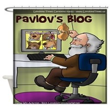 Pavlovs Blog Shower Curtain