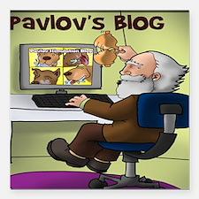 "Pavlovs Blog Square Car Magnet 3"" x 3"""