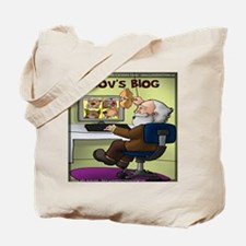 Pavlovs Blog Tote Bag