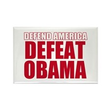 Anti Obama 2012 Rectangle Magnet